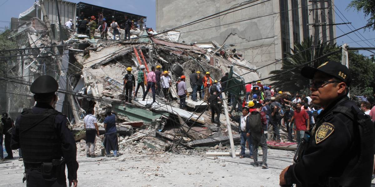 92 heridos graves tras sismo en hospitales.-SSA
