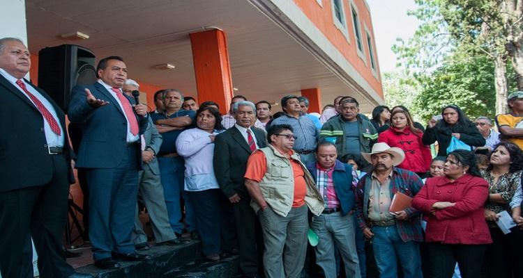 ¡A la calle! 600 empleados de Milpa Alta