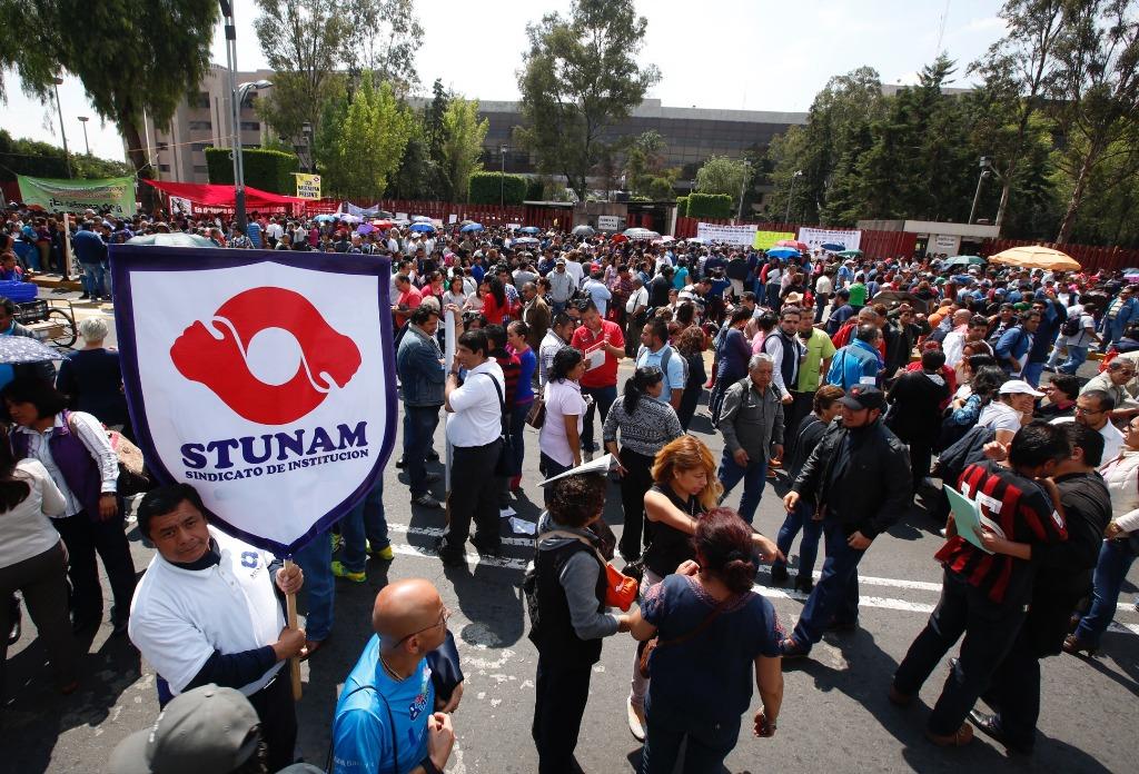 Acepta alza de 3.08% al salario en la UNAM