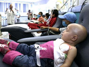 Acuden a hospitales 70% de niños con cáncer avanzado
