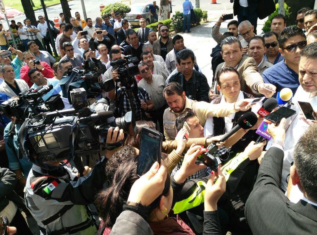 Acusan amenazas en la elección de las 36 secciones sindicales del STPRM