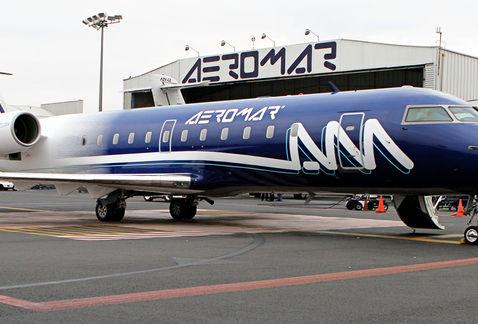 Acusan sobrecargos a Aeromar por presión