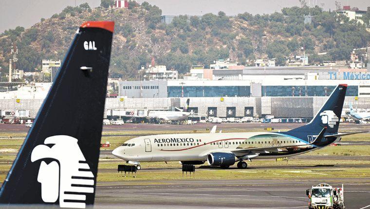 Aeroméxico descansará 50% de sus sobrecargos