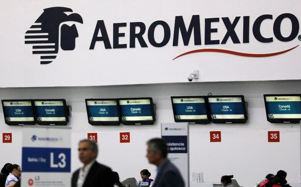 Aeroméxico y pilotos negocian nuevo acuerdo de reducción de sueldos