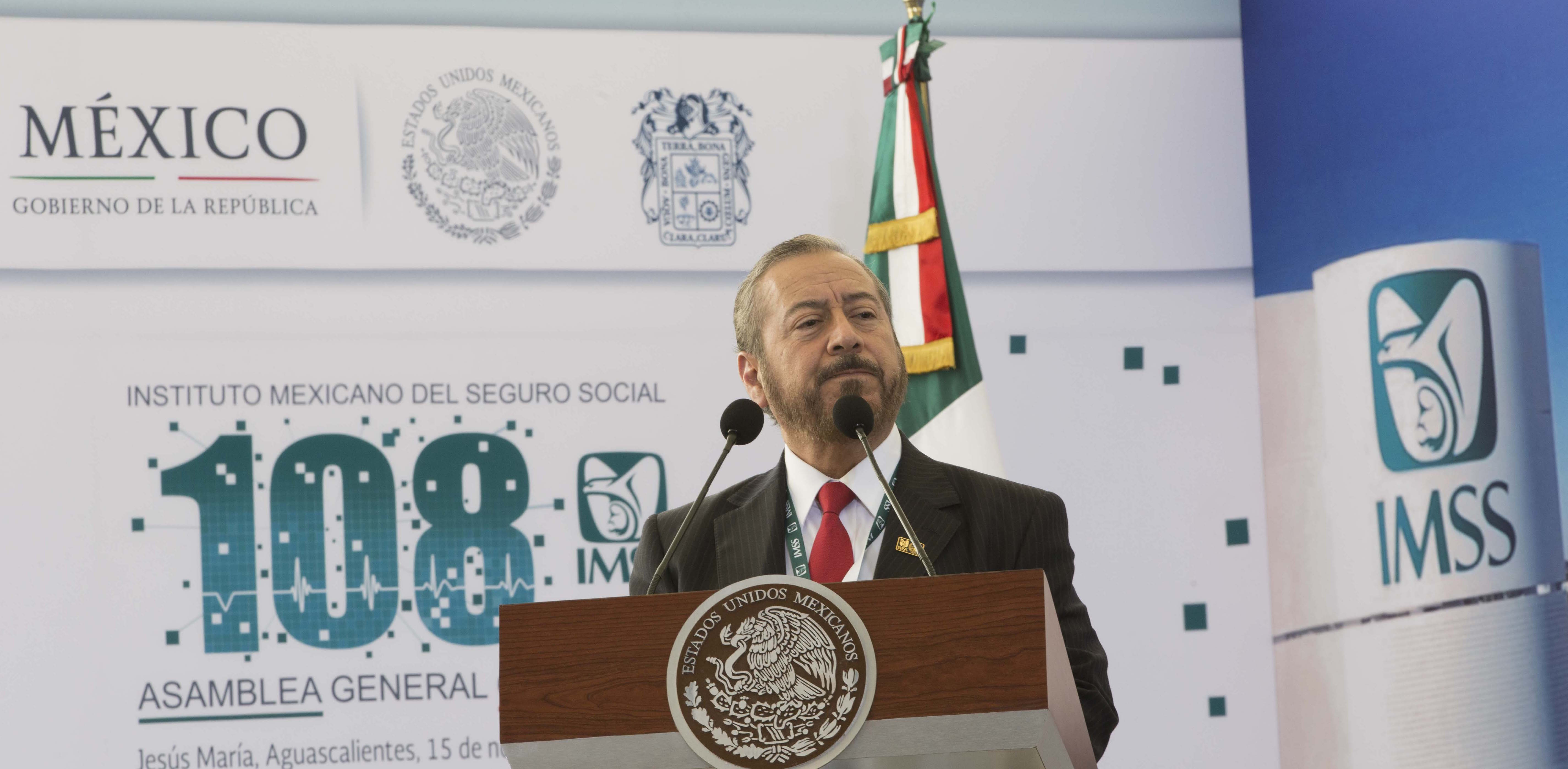 Agradece MVB respaldo presidencial a trabajadores IMSS
