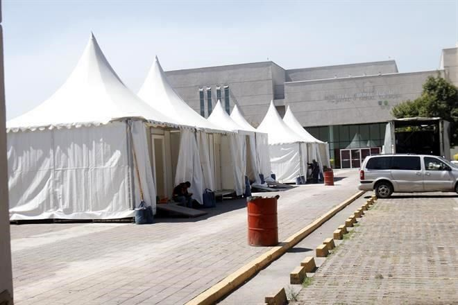 Alistan 200 camas para contingencia en CMDX