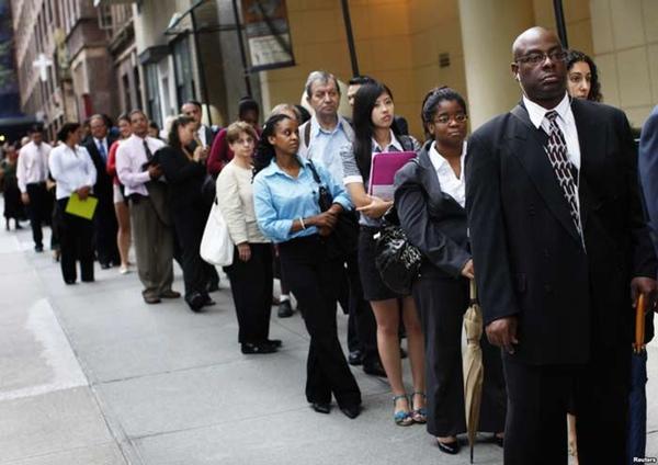 Alza en subsidio por desempleo en EU