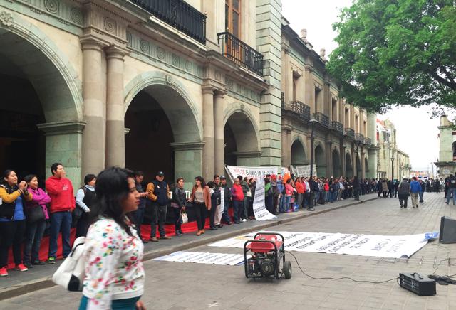 Amagan huelga en Universidad de Oaxaca