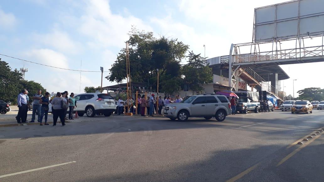 Amanece Villahermosa sin bloqueos tras pagos a trabajadores
