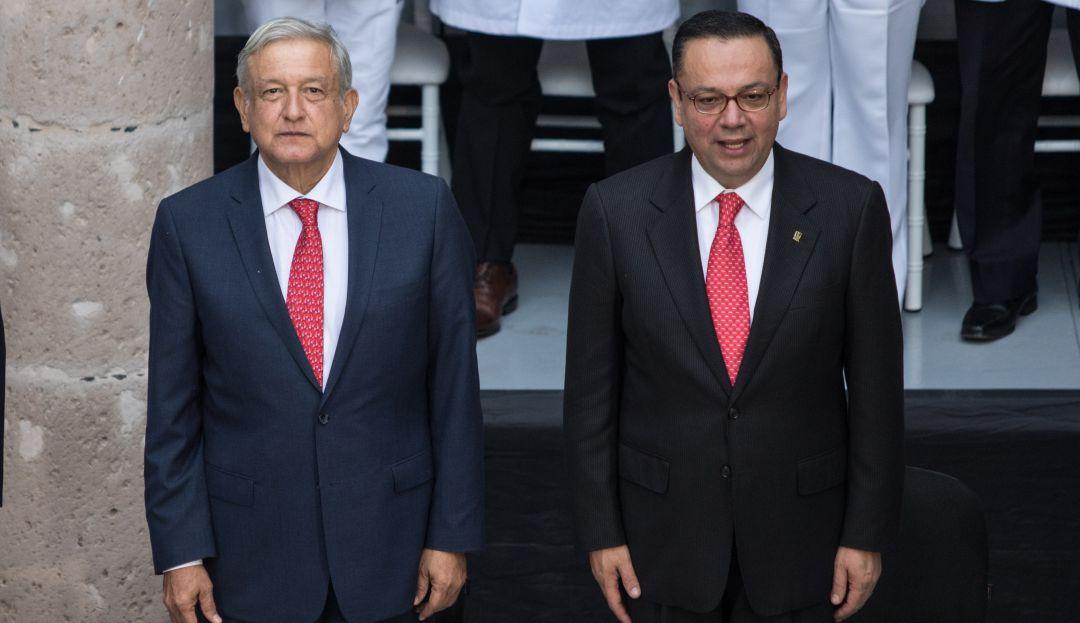 AMLO lamenta renuncia de Germán Martínez