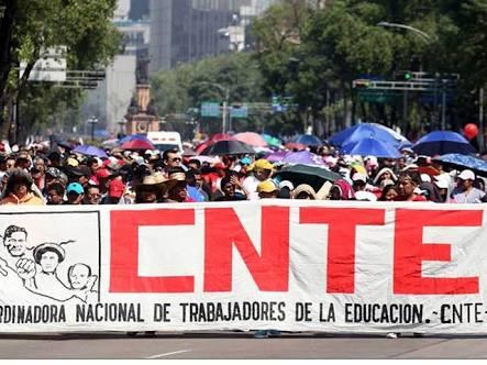 Analiza CNTE huelga nacional