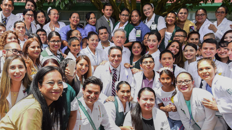 Anuncia AMLO iniciativa para crear Instituto de Salud para el Bienestar