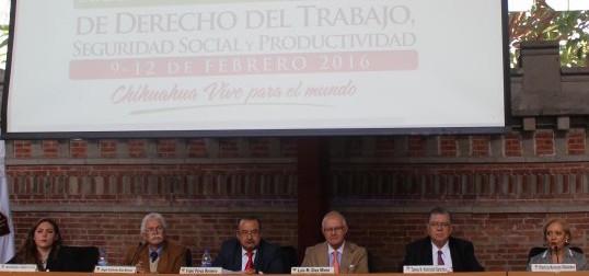 Anuncian Congreso Mundial de Derecho del Trabajo