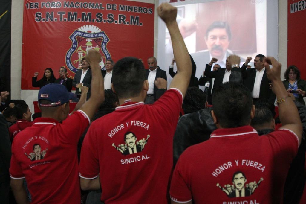 Aplaude Sindicato minero protección a Napo