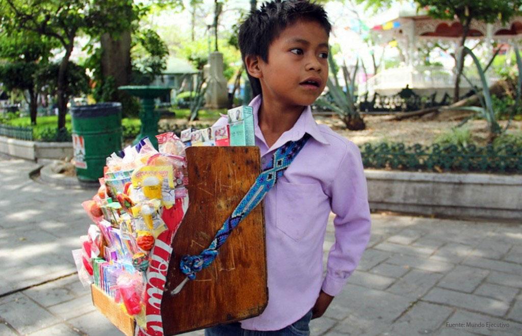 Asciende a 3.2 millones el trabajo infantil en México