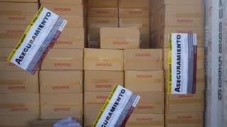 Aseguran mega cargamento de tabaco ilegal
