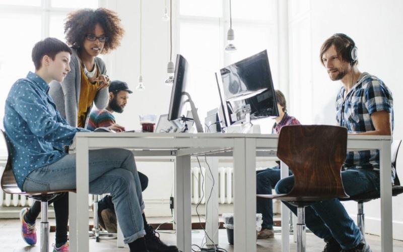 Así debe ser el espacio de trabajo ideal para Millennials