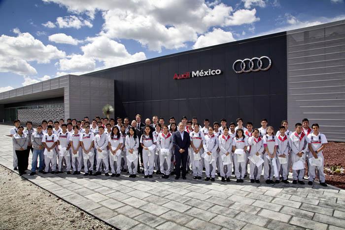 """Audi apoya a sus trabajadores con """"tiempo para estudios"""""""