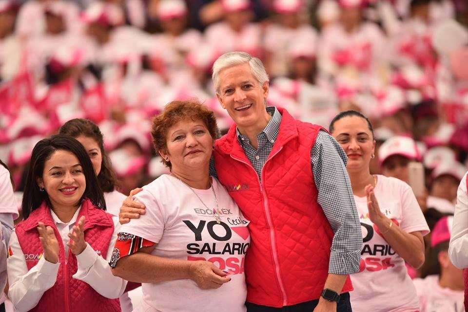 Beneficiará Salario Rosa a más de 100 mil mujeres