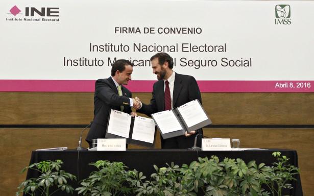 Blinda INE competencia electoral desde el IMSS