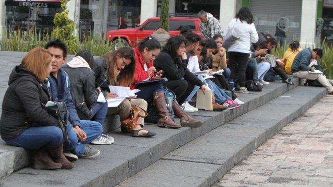 Cae el ánimo por desempleo principalmente en jóvenes