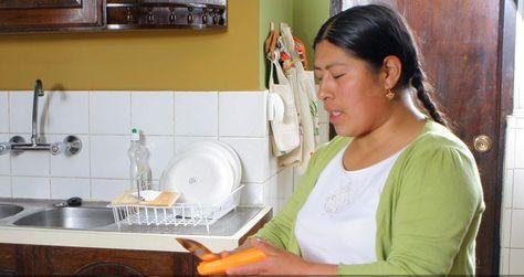 Campaña a favor de las trabajadoras del hogar