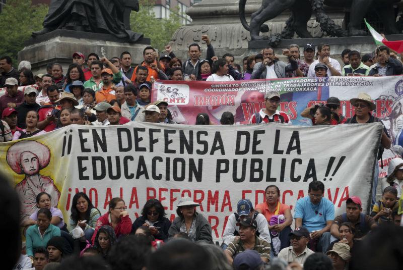 Cancelación de reforma el objetivo: CNTE