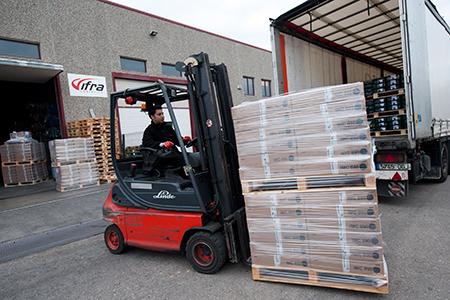 Carga de mercancías, con más accidentes laborales