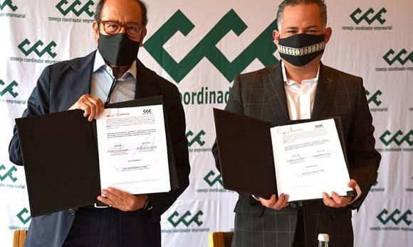 CCE y la UIF firman convenio para prevenir lavado de dinero