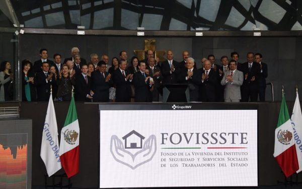 Certificados bursátiles del Fovissste permitirán cumplir metas de vivienda