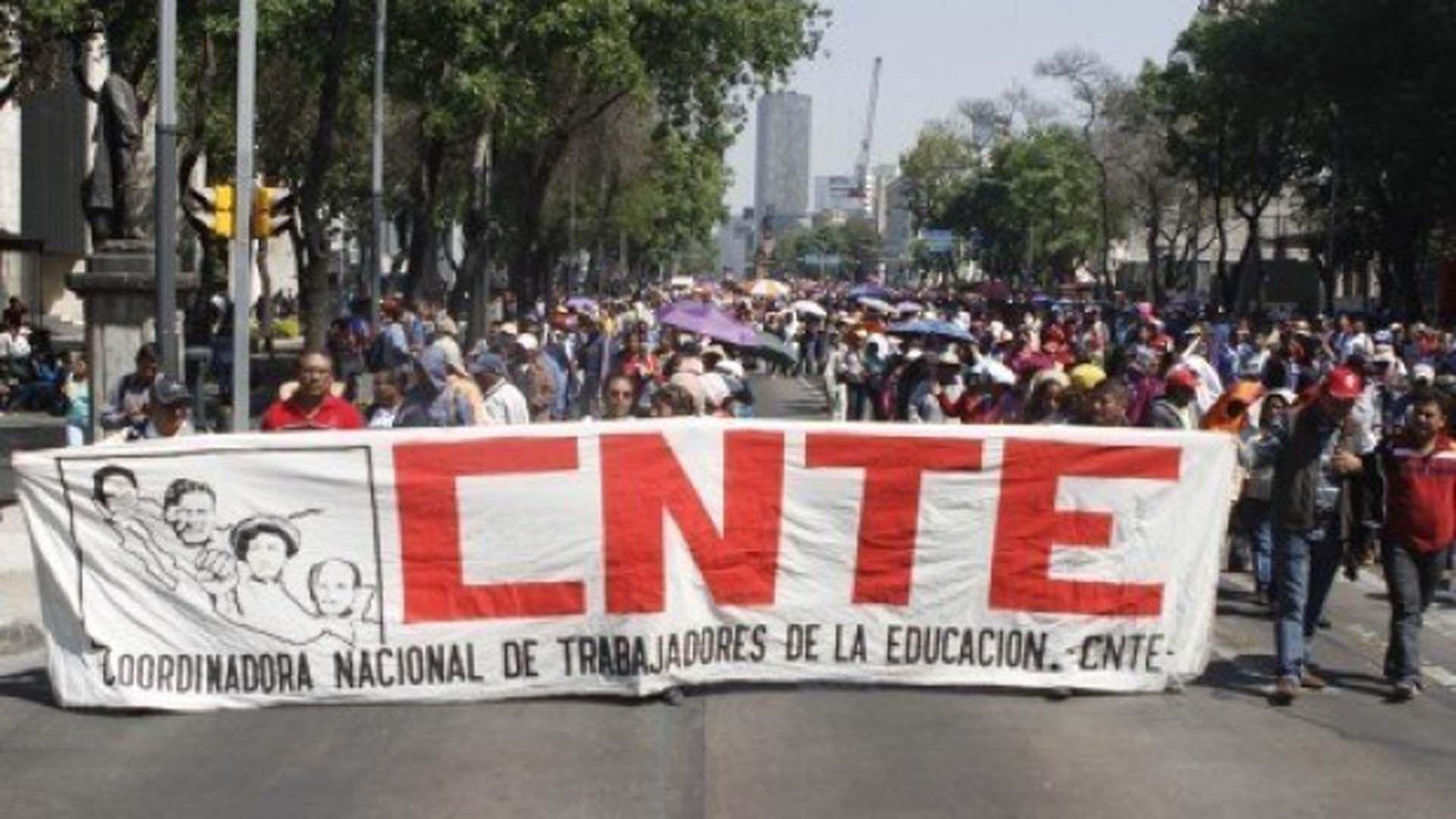 CNTE prepara marcha el 1 de diciembre
