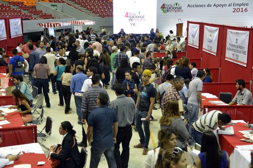 Colocan Ferias de Empleo a 527 mil buscadores de trabajo