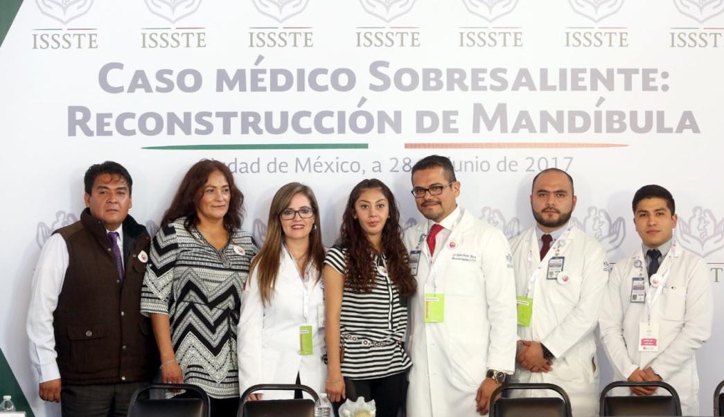 Con éxito, ISSSTE realiza segundo implante total de mandíbula en el mundo