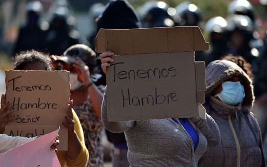 Crece la población con hambre en México: FAO