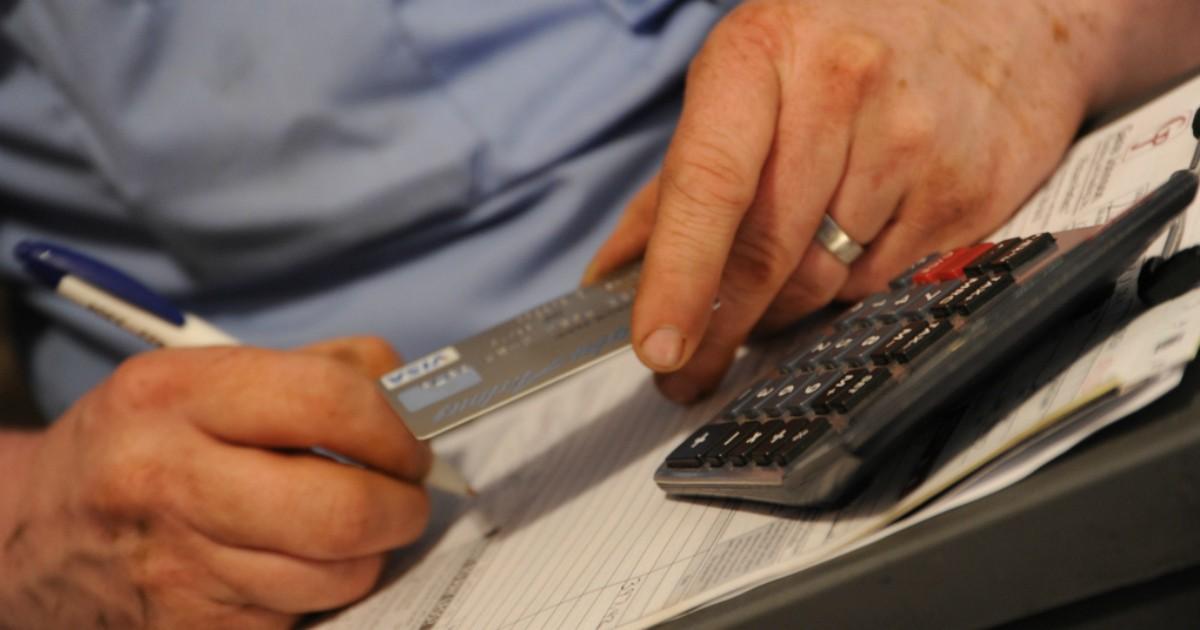 Cuesta hasta 495 pesos no pagar a tiempo tarjeta de crédito