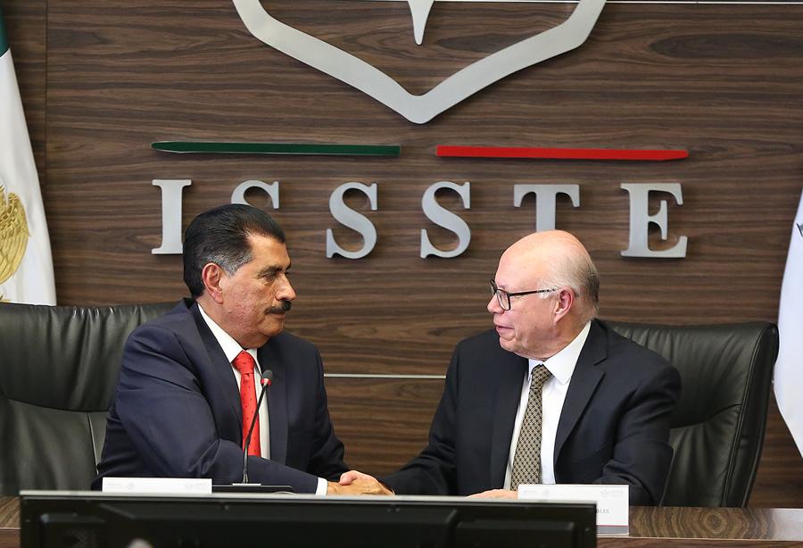 Dejo un mejor ISSSTE: Castro López