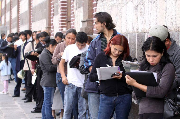 Desempleo en México, 2.1 puntos porcentuales por debajo del nivel de la OCDE