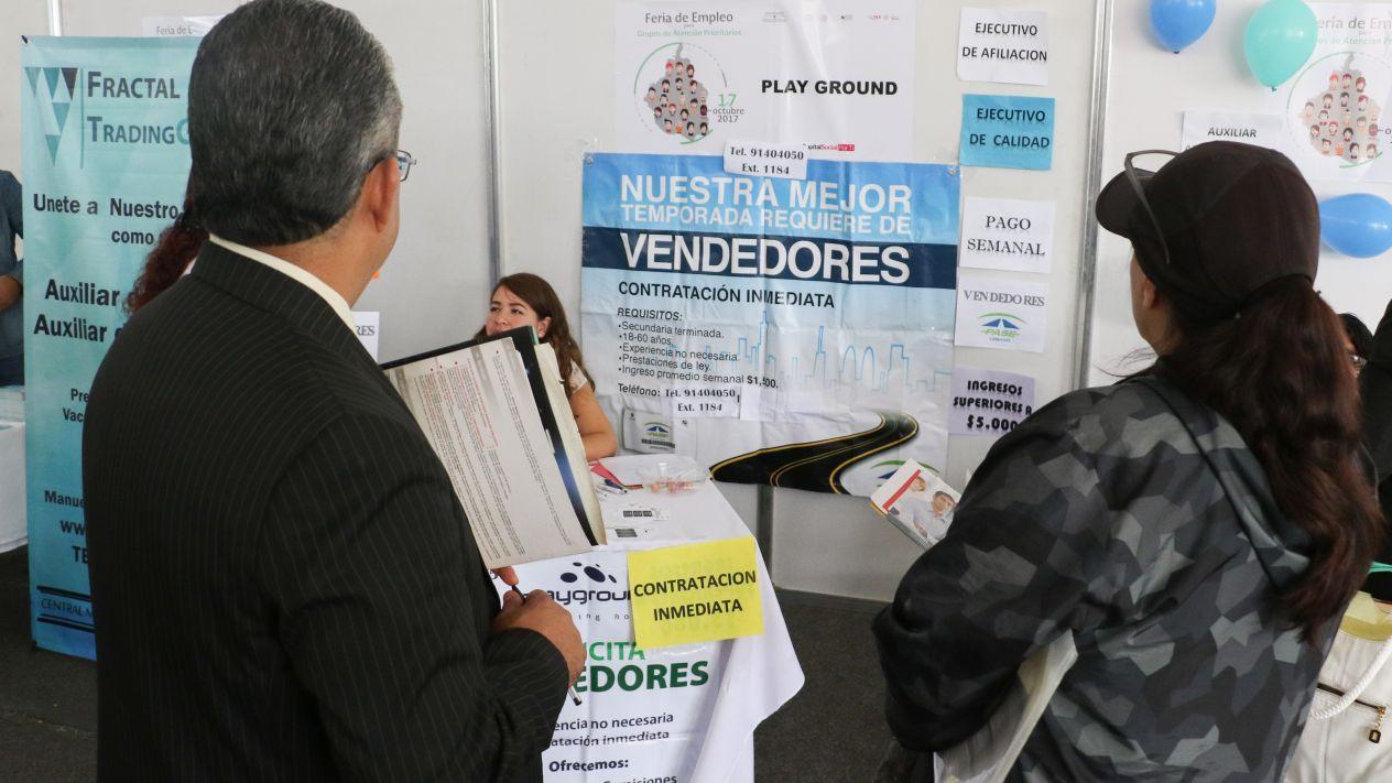 Desempleo en México repunta ligeramente en abril