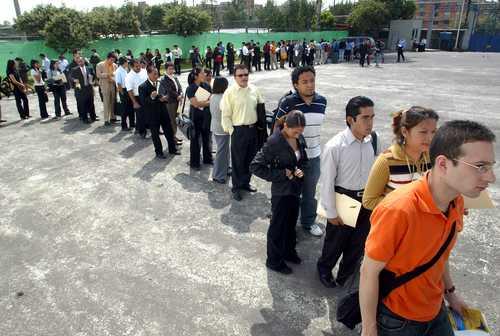 Desempleo se acentúa entre los jóvenes