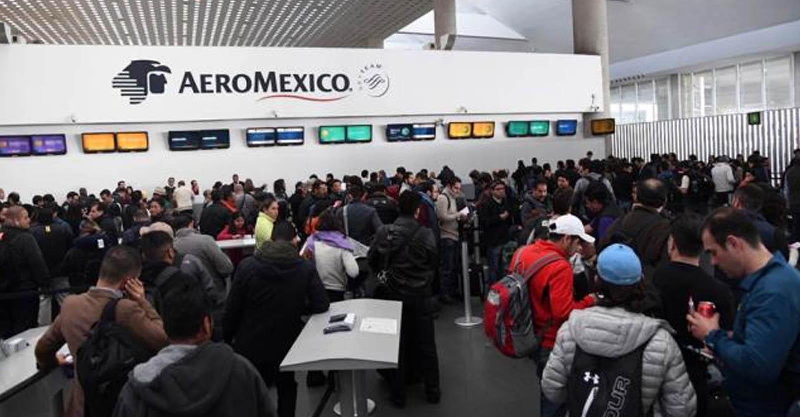 Despido de pilotos violenta relación laboral con Aeromexico