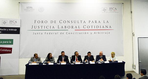 Destaca JFCA alcances de foro sobre justicia laboral