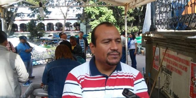 Detienen a líder del CNTE en Oaxaca