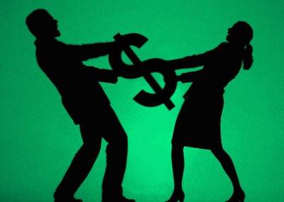 El dinero no es causal de divorcio, el empleo de él sí