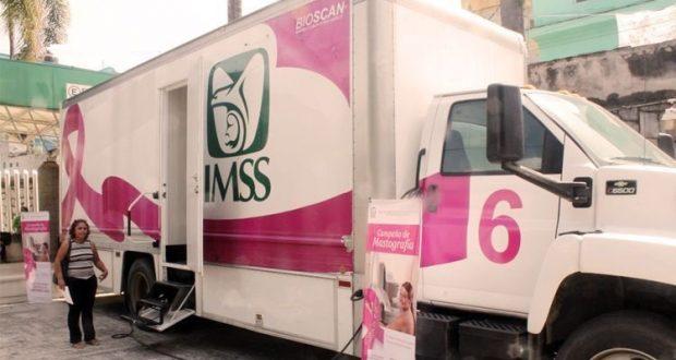 El próximo Domingo el IMSS regalará 500 mastrografías
