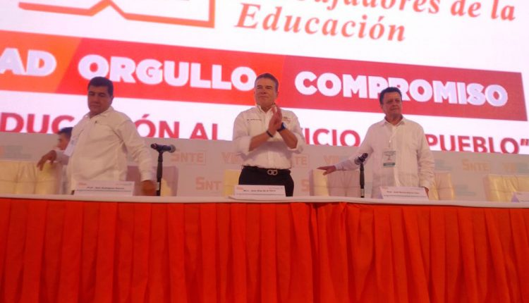 Eligen a Juan Díaz como líder del SNTE