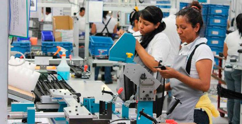 Empleo del sector manufacturero se mantiene sólido