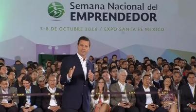 Emprendedores, el talento que mueve a México: EPN