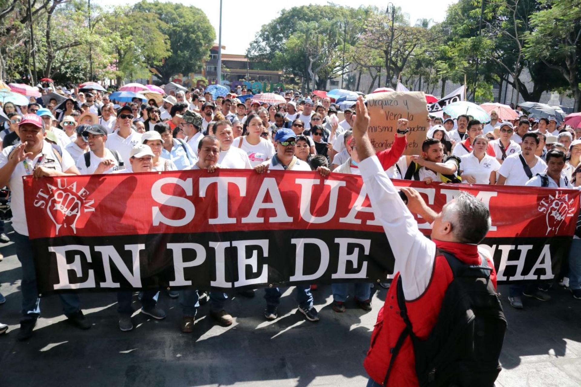 Empuja ley laboral amenazas a huelga