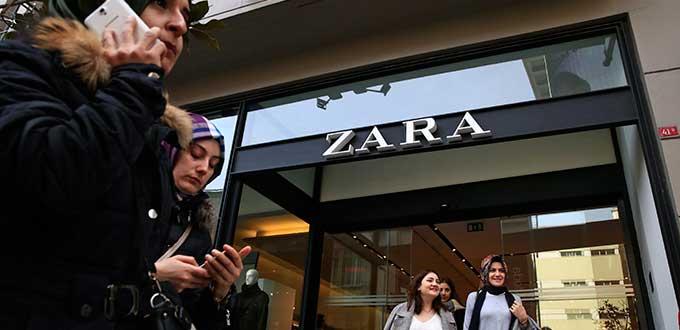 En Zara denuncian falta de pago en etiquetas de ropa