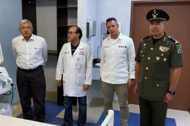 Entrega Gobierno 10 Hospitales al Ejército para coronavirus